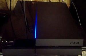 PS4 Luz Azul