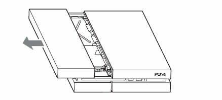 Remover Tapa PS4