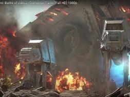 star wars battle of Jakku