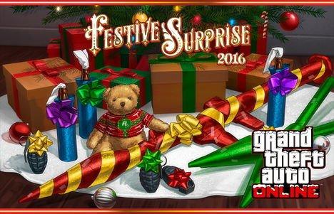 GTA Online: El evento Festive Surprise está de regreso