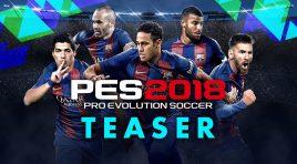 Confirman fecha de lanzamiento del PES 2018 en nuevo teaser del juego