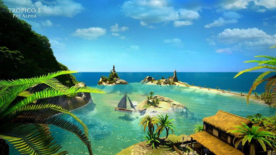"""Tropico 5 en PlayStation 4 lucirá """"exactamente"""" como en un PC de Alto rendimiento"""