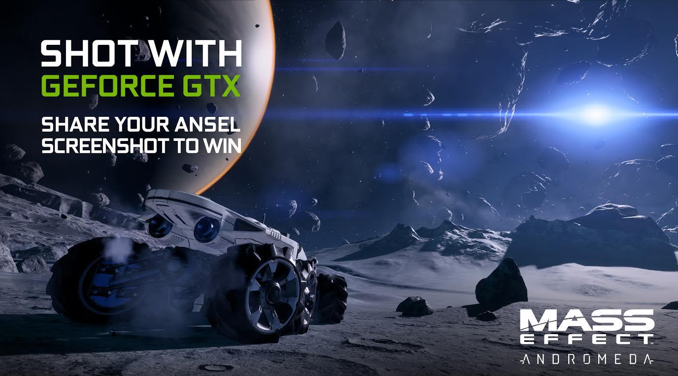 NVIDIA presenta el concurso de fotografía GeForce GTX Mass Effect: Andromeda Ansel