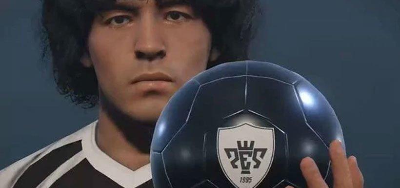 Diego Armando Maradona pone fin a su disputa con Konami por PES 2017